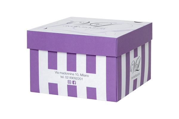 scatola per burger e cupcake