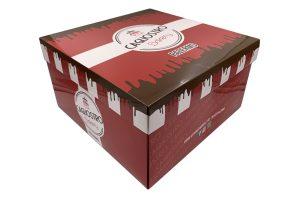 scatola porta torte americano